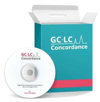 logiciel de comparaison automatique de chromatogrammes complexes GC-LC CONCORDANCE